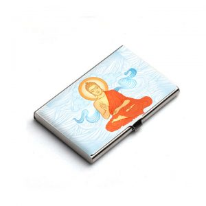 Buddha Card Holder Spiritual Gift