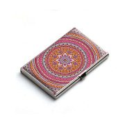 Chakra Card Holder Mandala Card Holder