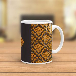 Royal Golden Pattern Ceramic Mug