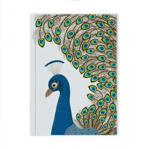 Blue Peacock Notebook