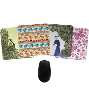 Wild Life Wonder Mousepad Collection By Heartzy