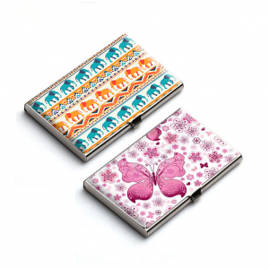 Abstract Animals Card Holder Combo