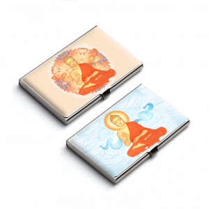 Blessing Buddha Card Holder Combo