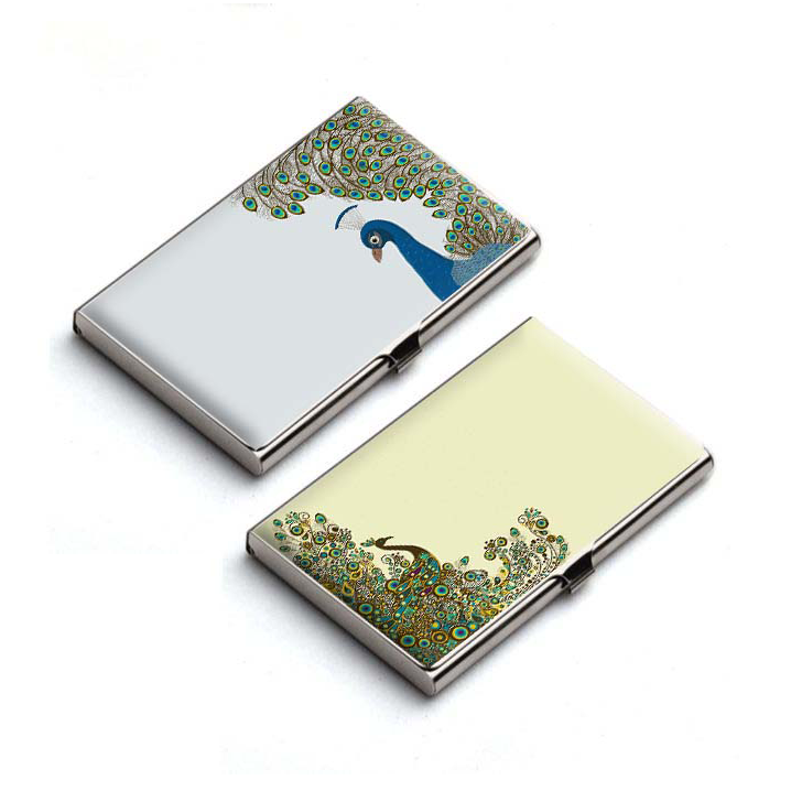 Peacock Sensation Card Holder Combo