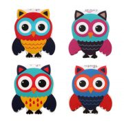 Owl Bookmark Combo of 4