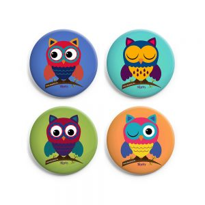 Set of 4 Badge Combo