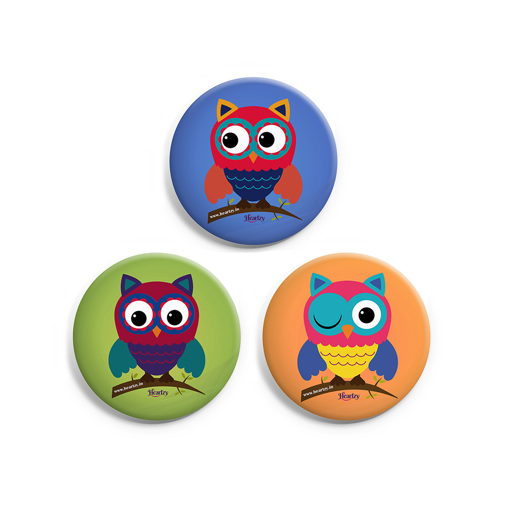 Set of 3 Badge Combo