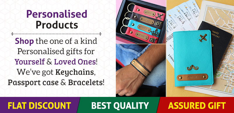 Personalised Products Banner