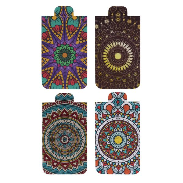 Mandala Bookmarks Chakra Bookmarks Magnetic Bookmarks