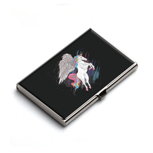 Unicorn Card Holder Gift for Unicorn Lovers